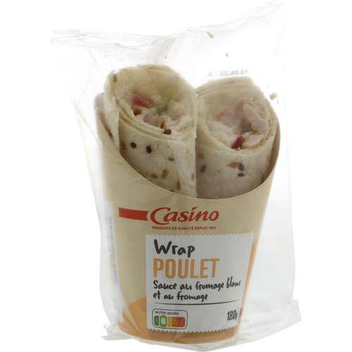 CHICKEN CAESAR WRAP 180G