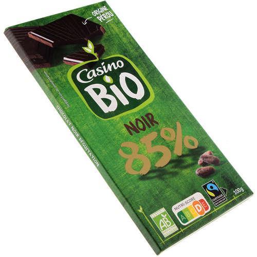 CHOC NR PEROU DG.85% 100G CO B